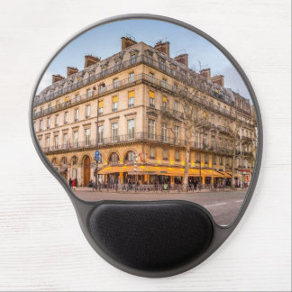 Paris - A bar on the corner of the street Gel Mouse Pad