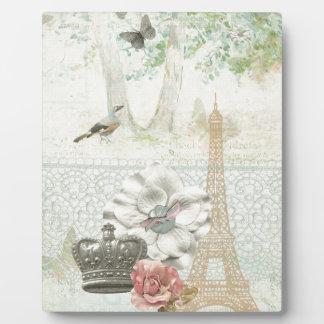 Paris a la Impressionism Plaque
