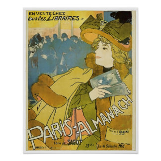 Paris Almanach poster