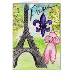 Paris and the Poodle Card