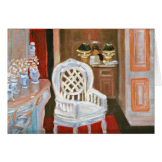PARIS ANTIQUE SHOP NOTECARD