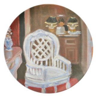 Paris Antique Shop Plate