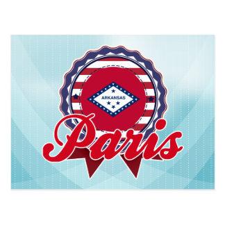 Paris, AR Postcard