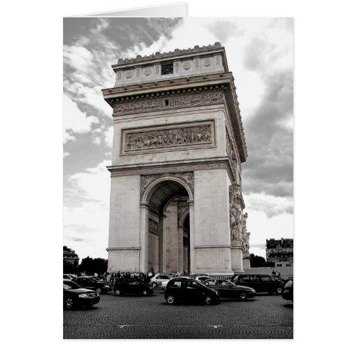 Paris Arc Card