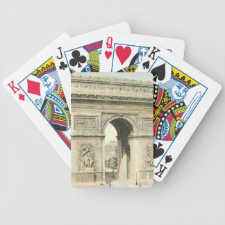 Paris, Arc de Triomphe Bicycle Playing Cards