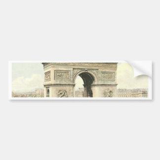 Paris, Arc de Triomphe Bumper Sticker