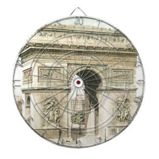 Paris, Arc de Triomphe Dartboards