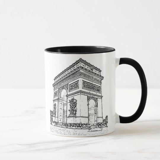 Paris ~ Arc de Triomphe Mug