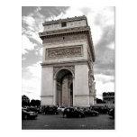 Paris Arc de Triomphe Postcard