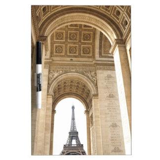 Paris architecture dry erase whiteboards