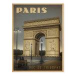 París - Arco del Triunfo Tarjetas Postales