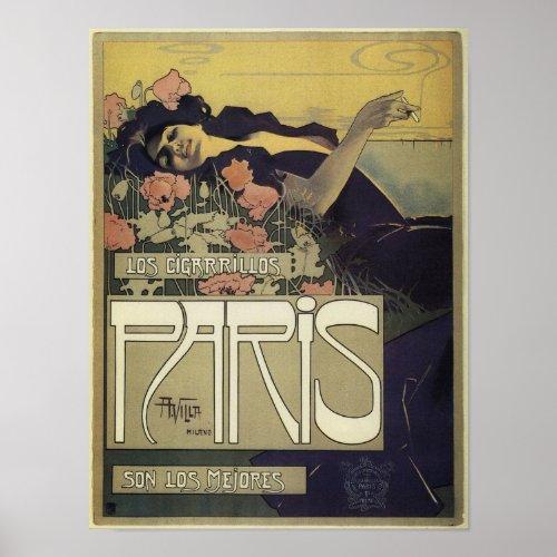 Paris Art Nouveau Poster posters