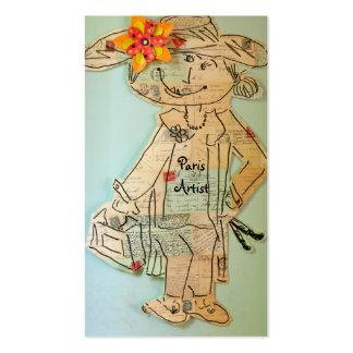 PARIS ARTIST BUSINESS CARD