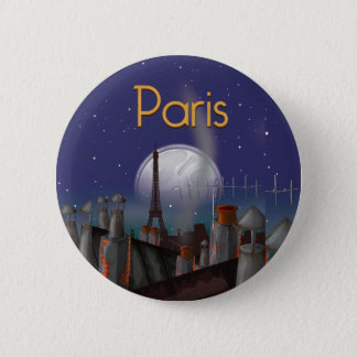Paris at night button