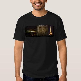 Paris At Night Montage T Shirt