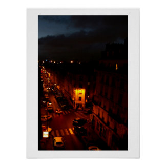 Paris at Night Posters