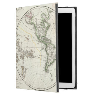 "Paris Atlas Map iPad Pro 12.9"" Case"