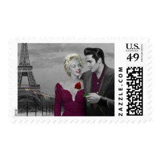París B&W Estampilla