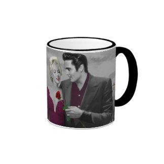 Paris B&W Ringer Coffee Mug