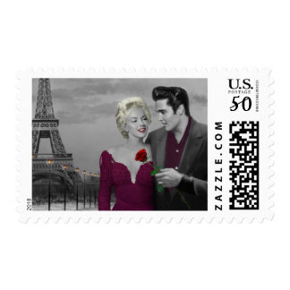 Paris B&W Postage