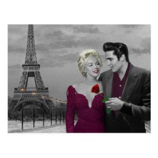 Paris B&W Postcard