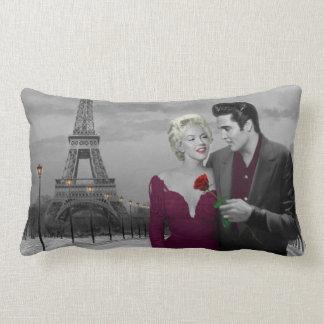 Paris B&W Throw Pillow