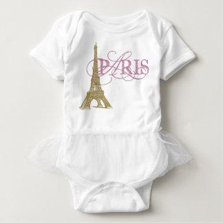 Paris Baby Girl Baby Bodysuit