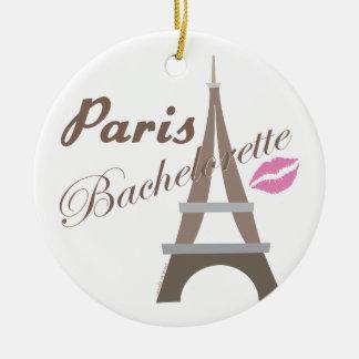 Paris Bachelorette Ornament Favor