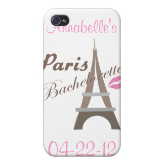Paris Bachelorette Party Gifts Covers For iPhone 4