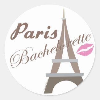 Paris Bachelorette Party Stickers