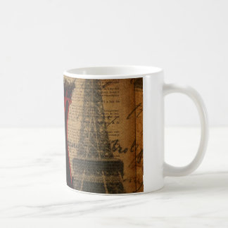 Paris Bachelorette Party vintage corset Coffee Mug
