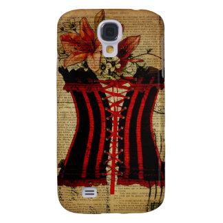Paris Bachelorette Party vintage corset Galaxy S4 Cover