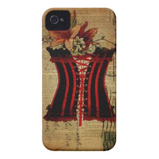 Paris Bachelorette Party vintage corset iPhone 4 Case-Mate Case
