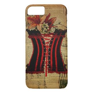 Paris Bachelorette Party vintage corset iPhone 8/7 Case