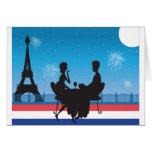 Paris Background Card