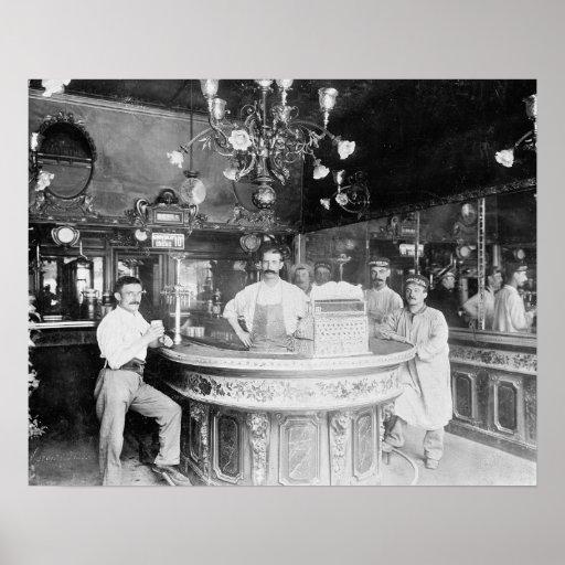 Paris Bar, 1895 Poster