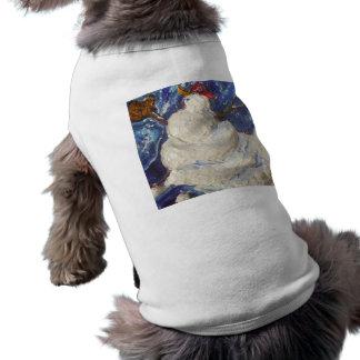Paris' Baseball Snowman Doggie T Shirt
