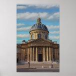 Paris - Bibliotheque Mazarine Poster
