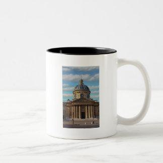 Paris - Bibliotheque Mazarine Two-Tone Coffee Mug