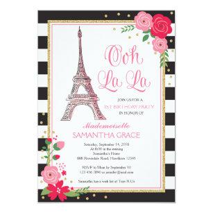 Parisian Invitations Zazzle
