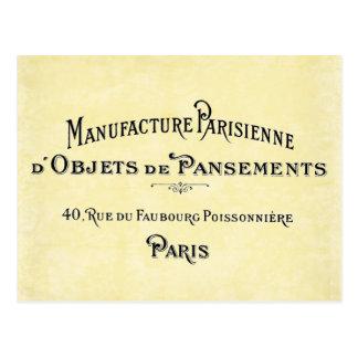Paris Biz Card Postcard