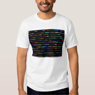 Paris Black Background T-Shirt