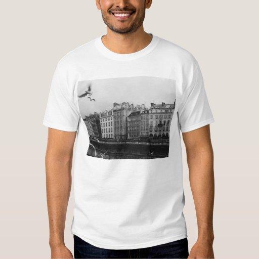 París blanco y negro playeras