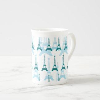 Paris Blues Tea Cup