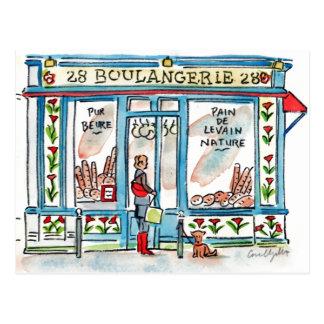 Paris BOULANGERIE 28 Postcard