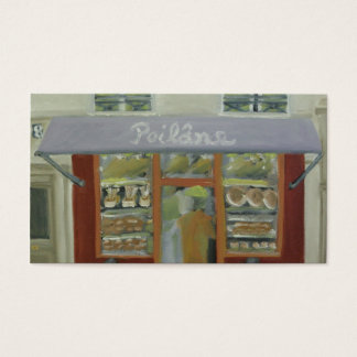 PARIS BREAD SHOP BUSINESS CARD
