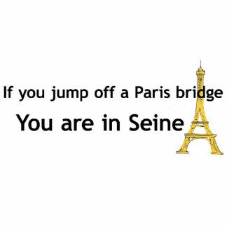 Paris Bridge Cutout