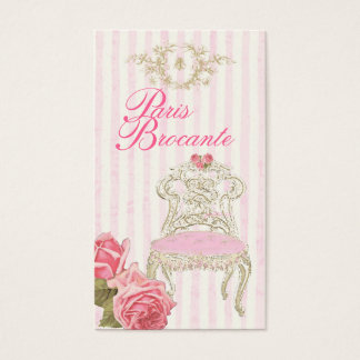 Paris Brocante Business Card