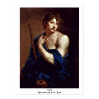 Paris By Anthony Van Dyck Post Card