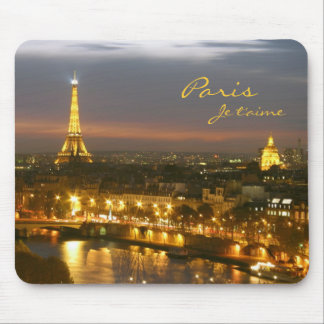 Paris by Night Mouse Pad